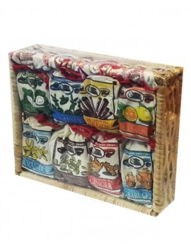 Assortment Special 8 in 1 Cane Basket