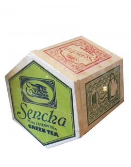 Wooden Hexagon Sencha 100g