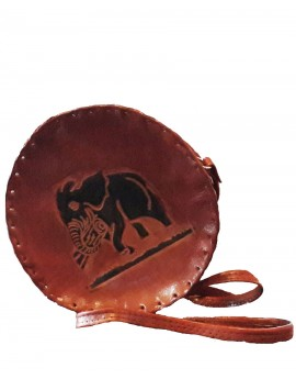 Leather Round Bag  200g