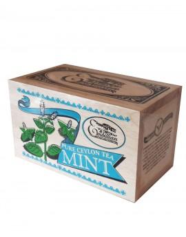 Wooden Box  Mint 100g