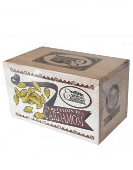 Wooden Box  Cardamom 100g